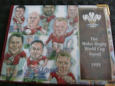 WELSH RUGBY WORLD CUP SQUAD EXC K22 CARDS RUGLYS-FULL SET