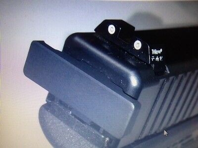 Back Plate For A Glock 45 Caliber