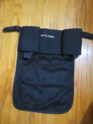 Maclaren Stroller Organizer Twin Pocket Cup Holder Buggy Bag