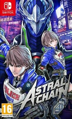 Astral Chain Nintendo Switch Platinum Games