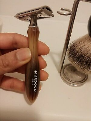 Murdock London Rare Double Edged Safety Razor Only