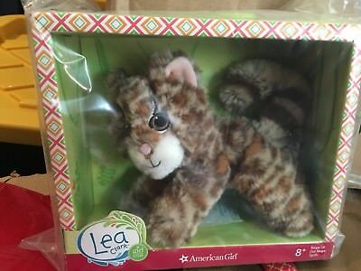 "New American Girl 2016 Goty Lea Clark's ""Sloth"" ""Sea Turtle"" & ""Margay Cat"" Nrfb"