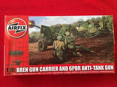 Airfix 1:72 Bren carrier and 6 pounder gun