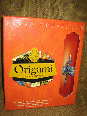 Origami  Kit - Origami Book and 50 Sheets of Origami Paper