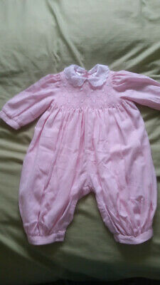 BNWT BONPOINT GIRLS PINK COOKIE ROSE PINK JEANS 6 Months