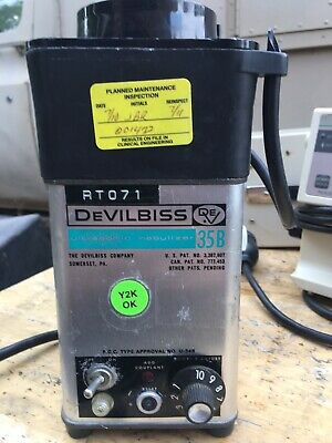 Devilbiss Ultrasonic Nebulizer 35B