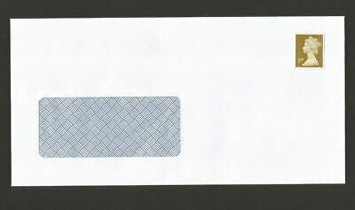 100 x 1ST FIRST CLASS PRE STAMPED DL SELF SEAL WINDOW ENVELOPES, 80 GSM