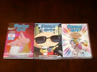 FAMILY GUY  Complete Season 14 15 and 16 DVD MINT!
