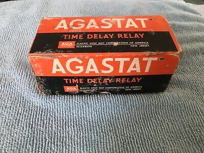 Vintage AGASTAT Time Delay Relay ND12 15 seconds