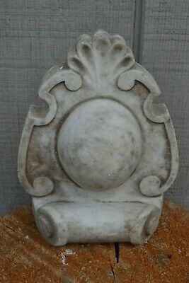 Antique Marble Fireplace Salvage Architectural Piece from Mantel New England