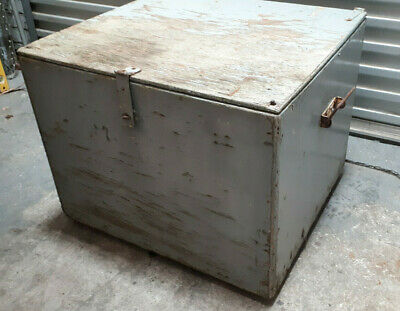 Vintage Timber/wooden Ice Chest/BOX antique storage trunk cooler esky