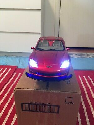 Remote Controlled Corvette with costumed Headlights,Taillights & Reverse Lights