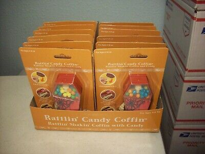 Rattlin' Shakin' Candy Coffin Skeleton Pull Foot (Sealed)
