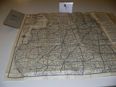 1920 RAND MCNALLY District 2 Auto Trails Map Ohio Kentucky ... Illinois Road Map Rand Mcnally on illinois county map, illinois dot construction map, illinois interstate highway map, illinois airports map, illinois tollway map 294, illinois tolls rates map, illinois road atlas, illinois us 66 maps,