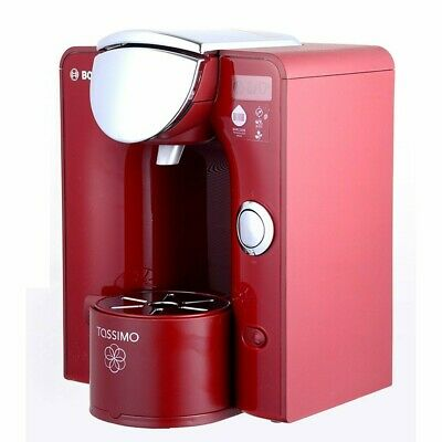 Bosch Tassimo Charmy (T55) coffee machine RED with over 80 DISCS & BRITA FILTER
