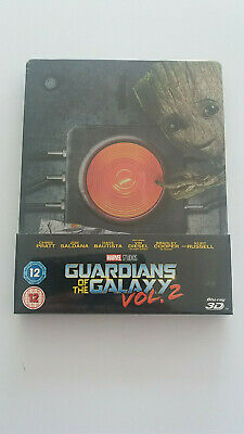 Les Gardiens De La Galaxie Vol.2 Steelbook Zavvi Bluray 3D/2D