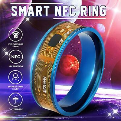 2019 Magic NFC Smart Ring Stainless Steel Wearable For All Android Mobile Phone