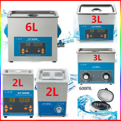 0.4-6L Ultrasonic Cleaner Ultra Sonic Bath Cleaning Machine Basket Heater Timer