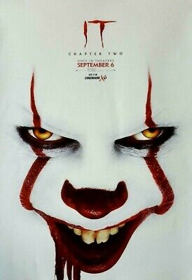 IT CHAPTER 2 TWO 2019 Original Cinemark XD Exclusive Promo Mini Movie Poster