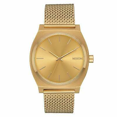 Nixon Time Teller Milanese Homme Montre - All Gold Une Taille