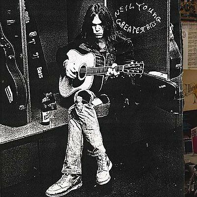 Neil Young Greatest Hits Remastered CD & DVD Audio NEW