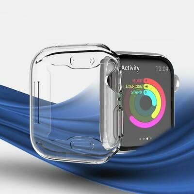 Protector TPU Cover Full around Screen Protective Case for Apple Watch U8HE