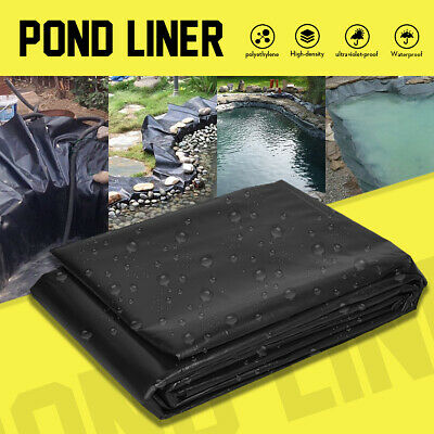 UK 9 Sizes Pond Liner Pool Fish Durable HDPE Guarantee Suit All Weather Garden
