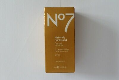 No7 Naturally Sunkissed Gradual Facial Tan SPF15 - 50ml