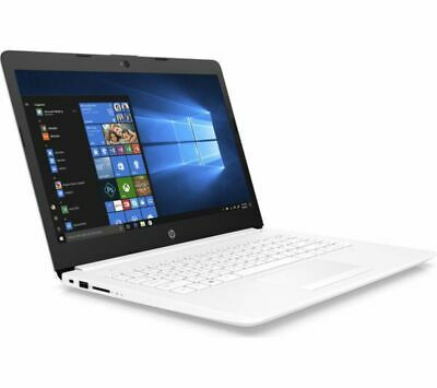 HP 14 Stream 14in White Laptop - Intel Celeron N4000 4GB RAM 64GB eMMC - Windows