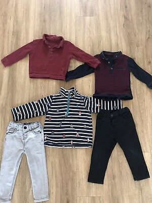 boys clothes 12-18 months bundle Includes Joules Jumper
