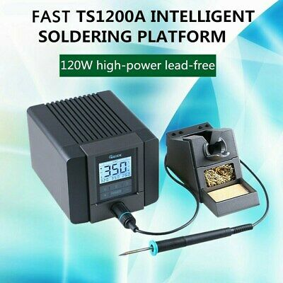 TS1200A 120W 110V LCD Touch Display Soldering Station For Phone Repair USA STOCK