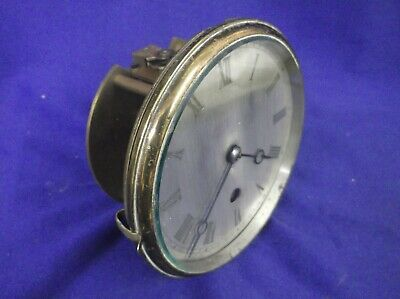 FRENCH SILVERED DIAL, BEZEL AND MOVEMENT in VERY GOOD WORKING ORDER +