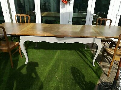 French Louis XV style extending dining table