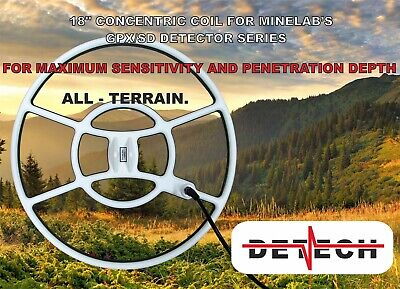 """Detech 18"""" Concentric  Coil for Minelab  SD /GP /GPX"""