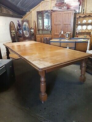 Antique Victorian Wind Out Table
