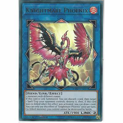 MP19-EN027 Knightmare Phoenix | 1st Edition | Ultra Rare Card | YuGiOh Mega Pack