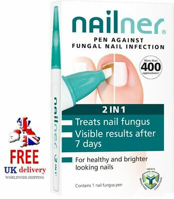 Nailner Pen 2 in 1 Pen 4ml Anti-Fungal Nail Infection Treatment 400 Applications