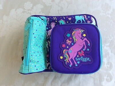 New Smiggle Unicorn Spark Lunch Box