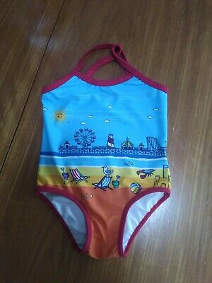 Mothercare Little Bird Girls Swimming Costume Aged 12-18 Months