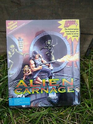 VINTAGE NEW IN BOX Alien Carnage - Apogee / IBM/PC Old Store Stock NIP USA