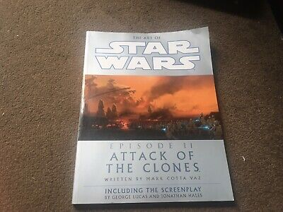 The Art of STAR WARS. Episode II 2 Attack Of The Clones Book