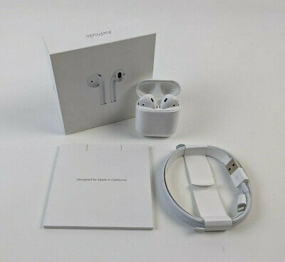 Apple AirPods 2nd Generation with Charging Case MV7N2AM/A - White