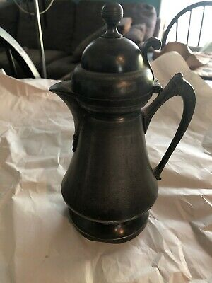 ANTIQUE WILCOX SILVERPLATE CO QUADRUPLE PLATE COFFEE/TEAPOT 1875 Excellent Cond
