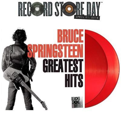 BRUCE SPRINGSTEEN - Greatest Hits - RSD 2018 SEALED 2 x LP RED Vinyl LP UK  NEW*