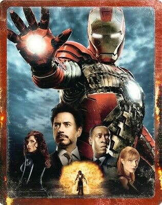 Iron Man 2 steelbook Ultra HD 4K Zaavi NEUF sous blister