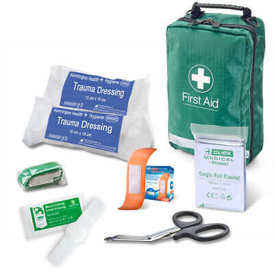 B-CLICK MEDICAL Critical Injury Pack Low Risk Bag First Aid Trauma Workplace