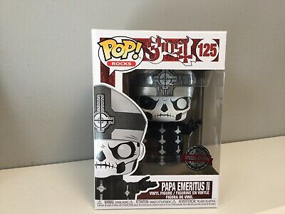 Funko POP Rocks! GHOST - Papa Emeritus II Exclusive! PREORDER!!