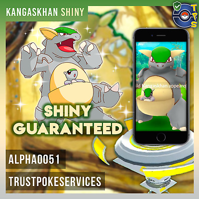 Pokemon Go Shiny Kangaskhan SHINY Catch Guaranteed ! more regionals available