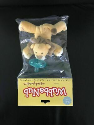 WubbaNub Infant Baby Pacifier Lion 0-6 Months NIB Free Shipping
