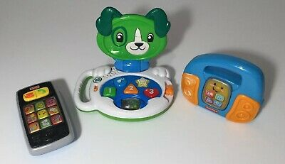 Educational Electronic Toy Lot Toddler Babies Fisher Price Vtech Clean Fun Learn